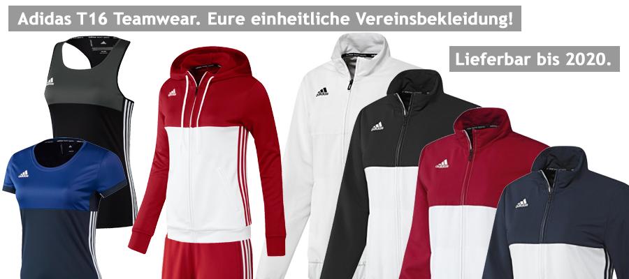 Jetzt alle Adidas T16 Teamwear Artikel bei un