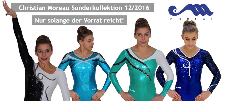 Die neue Moreau Sonderkollektion  12/2016!