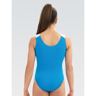 GK E3879 Ärmelloser Turnanzug - Electric Blue Tank Leotard *Spring Collection*