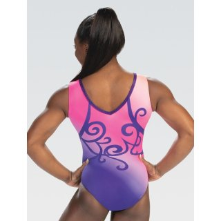 Ärmelloser Dreamlight Turnanzug DL 10525 - Whimsical Evening Tank Leotard *TOP*