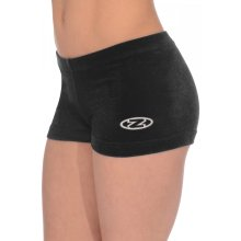 The Zone Hipster/Shorty aus glattem Samt F: schwarz