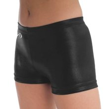 GK CB508 Hotpant Short black/schwarz Folienstoff *TOP*