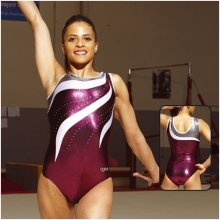 AGIVA 1910/8778 Gymnastikanzug 3*Metallic + Strass *TOP*...