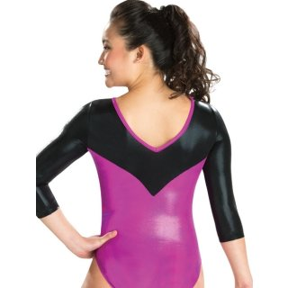 GK 5844ST 3/4 Arm Turnanzug/Gymnastikanzug - Serpentine Whirl Leotard