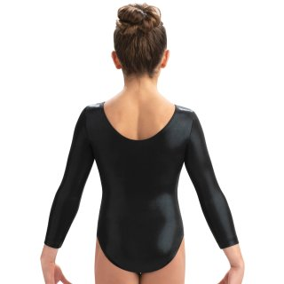 GK 3457 F22 3/4 Arm Turnanzug/Gymnastikanzug - black mystique *TOP*