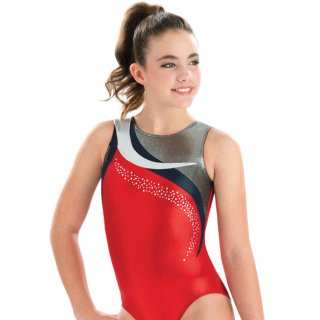 GK 3796 Ärmelloser Turnanzug/Gymnastikanzug - Glorious Leotard