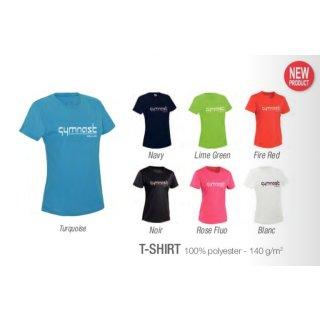 dfc388a488 Sehr schönes Damen Turn T-Shirt mit Druck - Turnanzüge|Turnriemchen|T