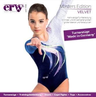 Turnanzüge ERVY Velvet Edition 2017