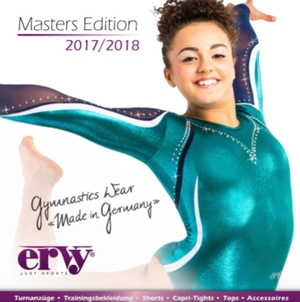 Turnanzüge ERVY Masters Edition 2017/2018